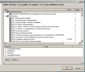 SC4eclipse COBOL preferences